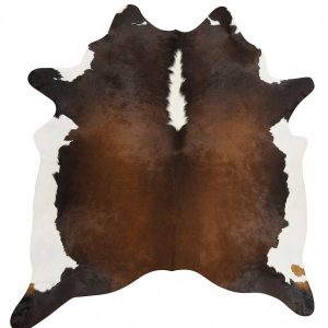 COWHIDE-NAT-CHOC Cowhide Chocolate Brown Rug - The Flooring Guys
