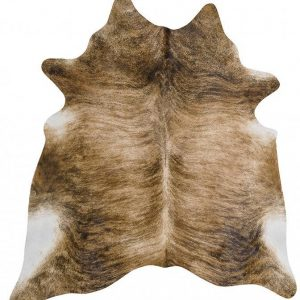COWHIDE-NAT-BRIN Cowhide Brown Rug - The Flooring Guys