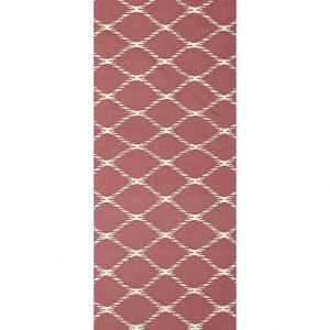 NOM-19-PINK-RU Flat Weave Pink Rug - The Flooring Guys