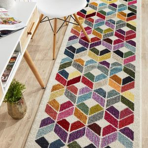 GEM-508-WHIT-RU Modern Multi Rug - The Flooring Guys