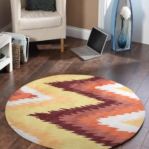HV-630ST-RO Modern Rust Rug - The Flooring Guys