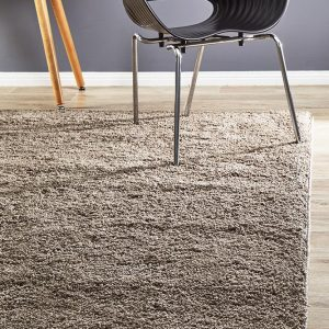 SOHO-BEIGE Shag Beige Rug - The Flooring Guys