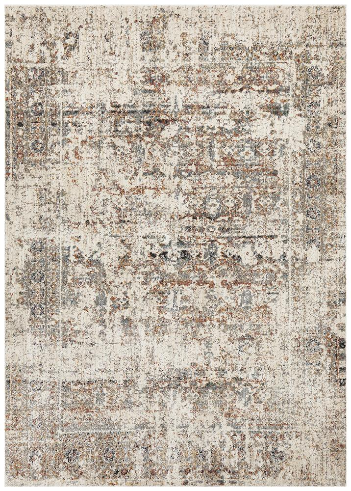 Fluid Dawn Modern Grey Rug