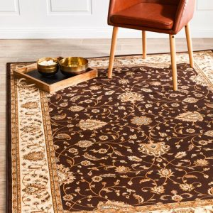 EMP-YAN-DBR Traditional Multi Rug - The Flooring Guys