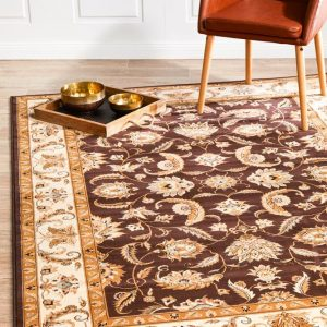 EMP-DEN-DBR Traditional Multi Rug - The Flooring Guys