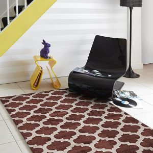 CIT-560-BRO Modern Brown Rug - The Flooring Guys