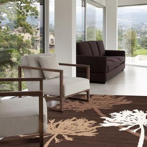 BCF-1642-N11 Modern Brown Rug - The Flooring Guys