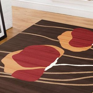 BCF-1589-S22 Modern Brown Rug - The Flooring Guys